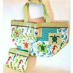 WWF World Wildlife Federation Recyclable Tote